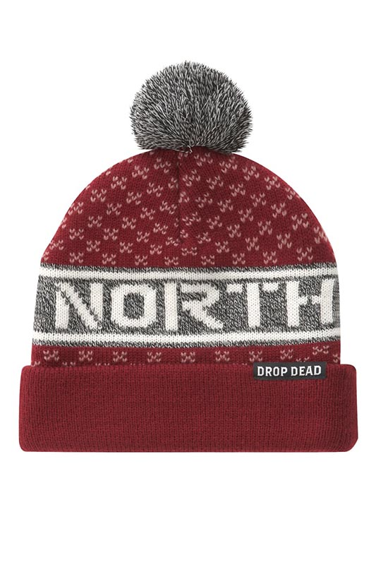 dropdead_northbobble_maroon_beanie_lg
